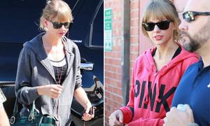 Thời trang tập gym ngày lạnh của Taylor Swift