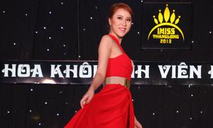 Nữ sinh Báo chí khoe sắc đêm Imiss Thăng Long