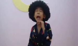 Ngọc Duy Voice nhí hát nhép 'Teen vọng cổ' siêu hài