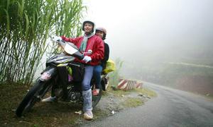 Kinh nghiệm phượt đường núi quanh co
