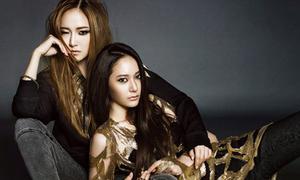 Chị em Jessica, Krystal sắc lạnh cùng đồ đen