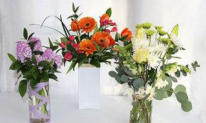2 cách cắm hoa đơn giản không cần khéo tay