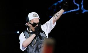G-Dragon khuấy động concert của Justin Bieber