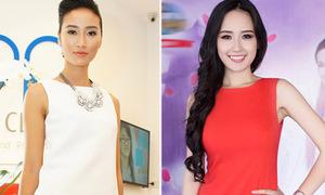 Huyền Trang đụng 'váy lùn' với Mai Phương Thúy