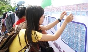 Bức tranh 'Sài Gòn trong tôi' từ hơn 560.000 vé xe buýt