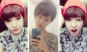 Quỳnh Anh Shyn, Chi Pu so độ 'đẹp trai'