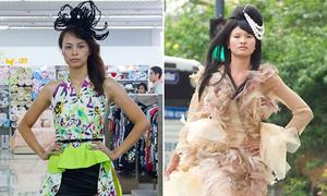 Kim Thoa nối gót Lê Phương làm 'thảm họa' thời trang