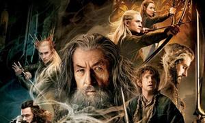 'The Hobbit: The Desolation of Smaug' tung poster đậm chất thần thoại