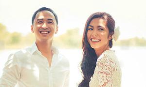 Nhìn lại một năm ngày cưới của vợ chồng Hà Tăng