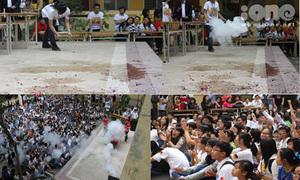 'Bữa tiệc khoa học' vui nổ trời của teen Chuyên Ngữ
