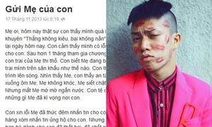 Hà Nhật Tiến viết tâm thư sau khi bị loại khỏi Fashion Star