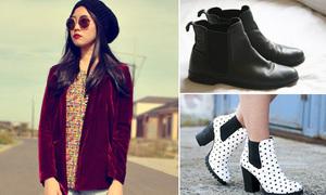 Teen thế giới phối đồ thông minh với Chelsea boots
