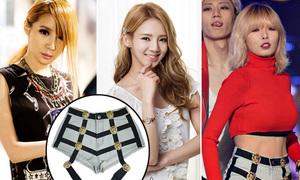 Bộ ba sao Hàn 'diện chung' quần shorts sexy