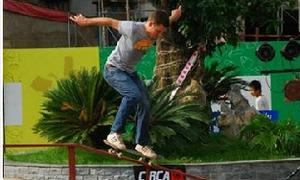 Ngày hội trượt ván Boo Skateboarding Day cho giới trẻ