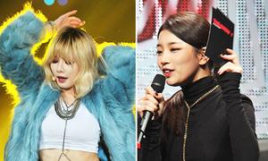 Suzy, HyunA mix đồ đẳng cấp với dây chuyền lạ