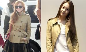 Gu ăn mặc của chị em Jessica - Krystal
