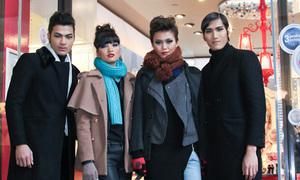 Top 4 Next Top lộ diện với style cực chất ở Paris
