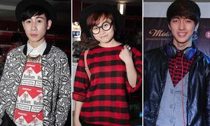 Style dự tiệc mùa đông của teen Hà Thành