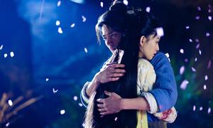 Cảnh tình cảm lãng mạn phim cổ trang Hoa ngữ