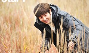 Lee Jun Ki lãng mạn trên đồng cỏ