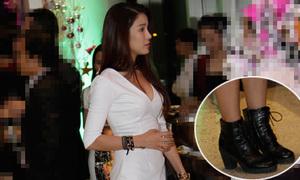 Hot or not: Diệp Lâm Anh phối váy sexy với giày ngầu