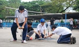 Teen các trường đọ tên lửa nước hoành tráng