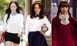 Phong cách đối lập 8 'nữ hoàng trường học' nổi tiếng