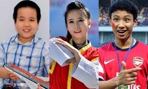 5 gương mặt học đường nổi bật nhất 2013