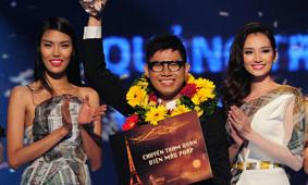 Quang Nhật giành ngôi quán quân Fashion Star