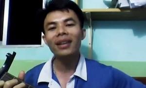 Thầy giáo hát 'Suy nghĩ khi thi' tặng học trò
