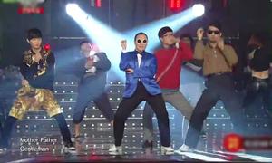 AOA, Teen Top, M.I.B bùng nổ với màn cover 'Gentleman'