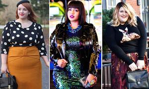 9 blogger béo phì vẫn mặc đẹp