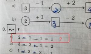 Bài toán lớp 1 cộng trừ khiến học sinh đau đầu