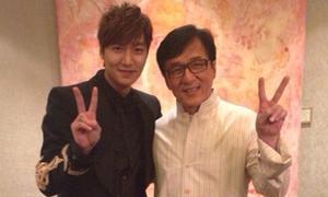 Thành Long chào đón Lee Min Ho với giọng điệu nhí nhảnh