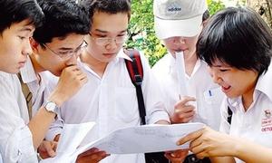 Thí sinh có thể dự thi ít nhất 3 đại học năm 2014