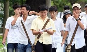 Công bố quy định tuyển sinh ĐH - CĐ 2014 sớm