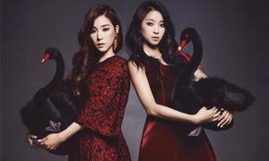 Tiffany, Bora thân thiết như chị em