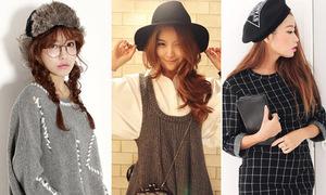 8 kiểu mũ cực hot trên thị trường
