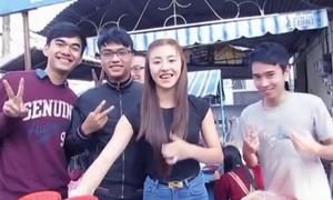 'Hot girl bánh tráng' bất ngờ xuất hiện trong video hài