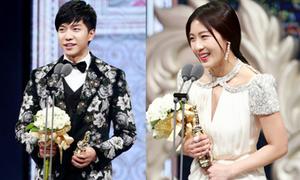 Ha Ji Won, Lee Seung Gi lên ngôi tại MBC Drama Awards