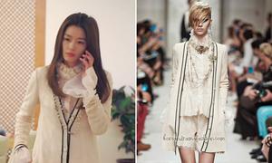 Jun Ji Hyun mặc toàn đồ hiệu trong 'Vì sao đưa anh tới'