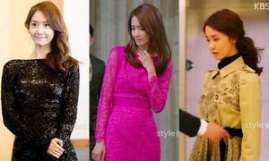 Style đổi liên tục của Yoona trong 'Thủ tướng và tôi'