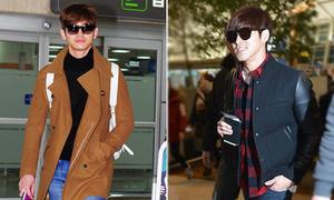 Style mùa đông của bộ đôi Yun Ho - Chang Min
