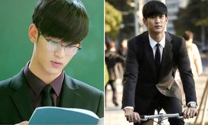 Diện vest trẻ như 'người ngoài hành tinh' Kim Soo Hyun