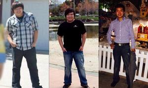 Hành trình giảm cân của chàng trai 110kg