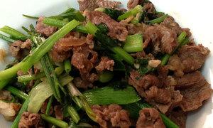 Cách xào thịt bò mềm thơm ngon