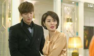 'Mẹ Kim Tan' xin số Lee Min Ho ngay trên sóng truyền hình