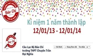 CLB Báo chí Trần Đại Nghĩa mừng sinh nhật đáng ghen tỵ