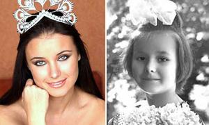 Ảnh thời bé của các Hoa hậu Hoàn vũ