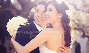 Lộ ảnh cưới của Ngọc Quyên tại Mỹ